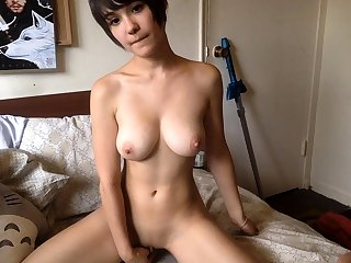 Japanese wiith broad in the beam boobs