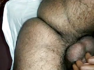 Indian lady filled to the gunwales while plowed from ignore