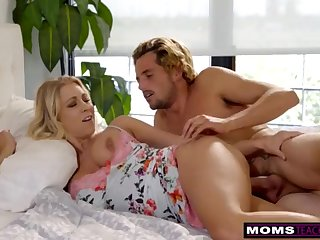 MomsTeachSex - Mommy And Sonny Share Sofa And Shag S7:E3