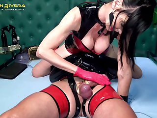 Sexy Carmen Rivera wants there punish her sweetheart with BDSM sex game