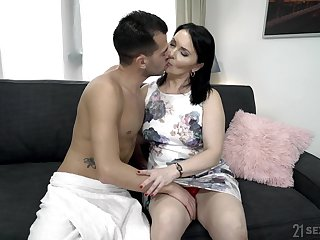 Demonstrative of age fat whore Ilsa gets hammered really rough by her beau