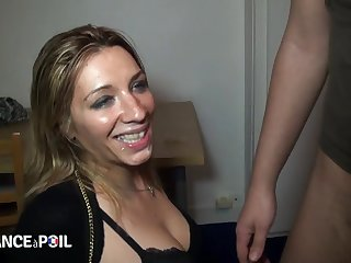 Dirty Blond Hair Coddle Bitch Scours Streets