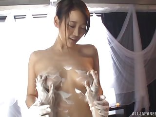 Nice tits and ass Japanese babe Wakana Nao fucked by her client