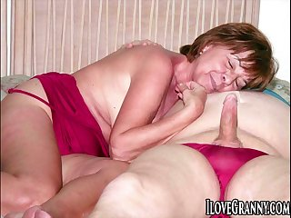 ILoveGrannY Homemade Pics in the air Gallery Compilation