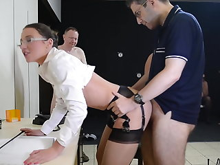 Slutty secretary